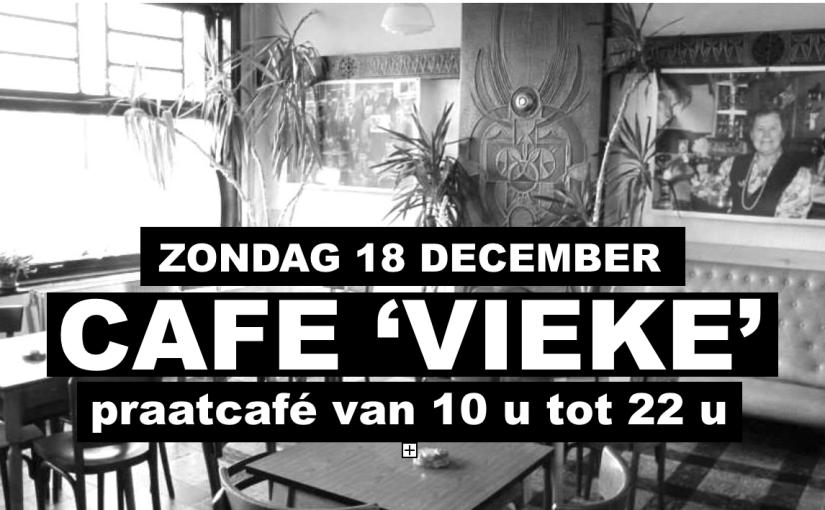 Nog enkele dagen en dan gooien  we de cafédeuren van Vieke weer open:-)